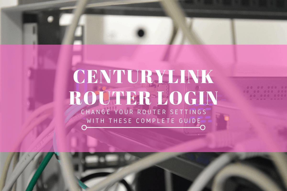 centurylink router login