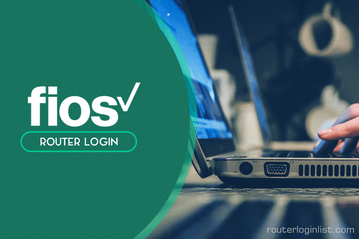 fios router login