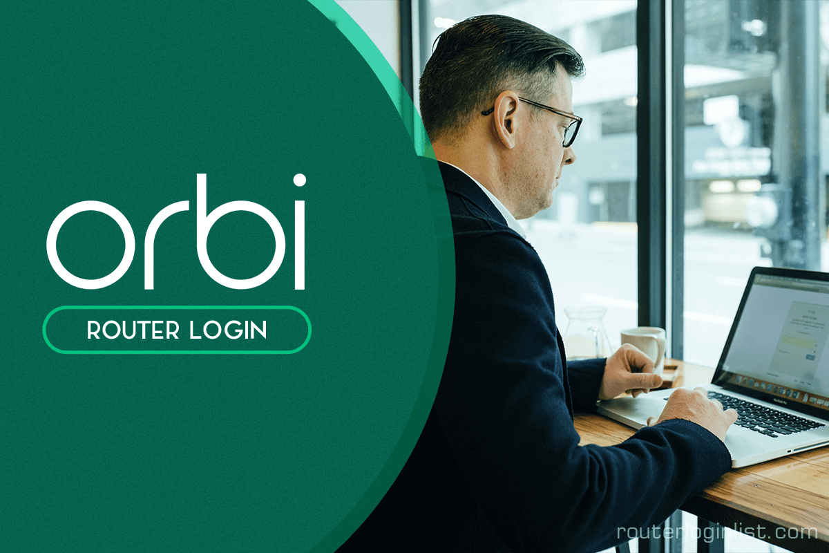 orbi router login