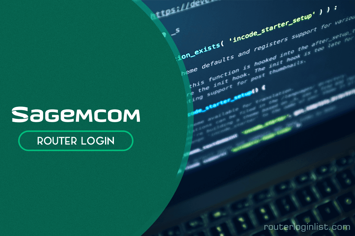 sagemcom router login