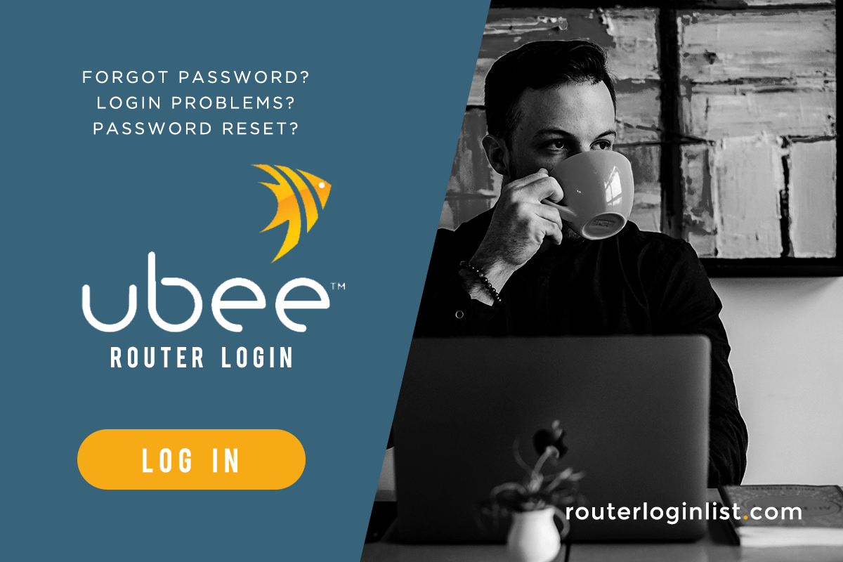 Ubee router log-in
