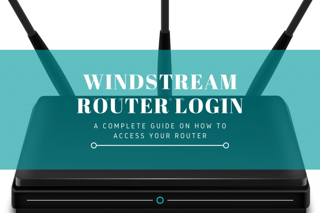 windstream router login
